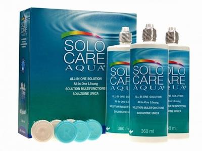 SOLOCARE Aqua 3x360ml. voordeelpak (6 maanden)