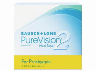 PureVision 2 for Presbyopia 6 lenzen