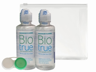 Afbeelding van Bausch&Lomb Biotrue Mps Flight Pack 1st