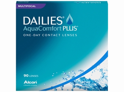 Dailies Aqua Comfort Plus Multifocal 90 lenzen