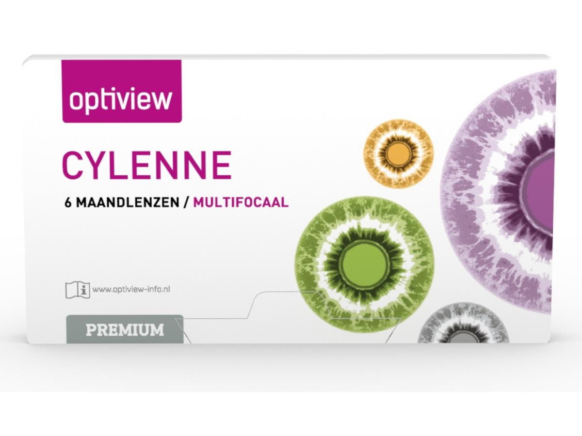 Optiview Cylenne Premium Multifocal 6 lenzen