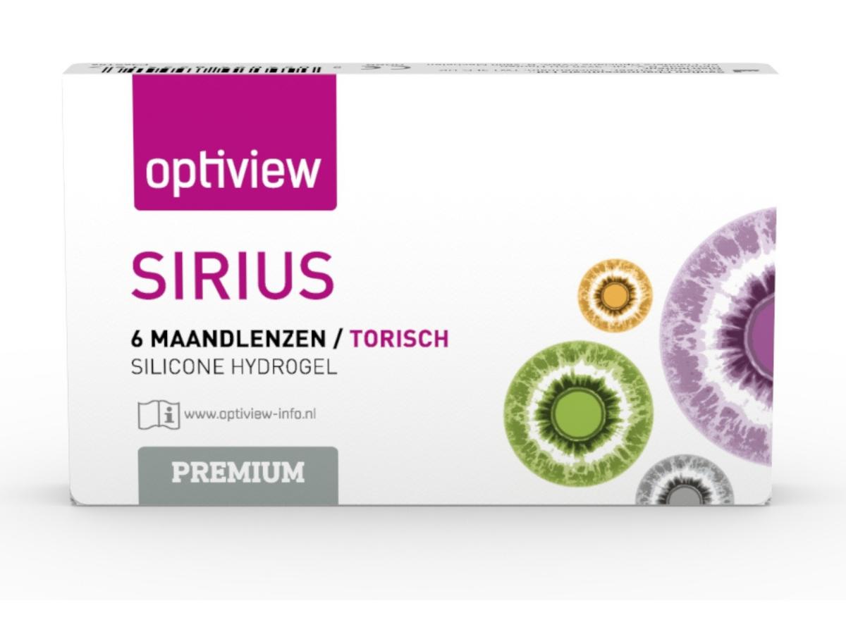 Optiview Sirius Premium Torisch, 6 lenzen