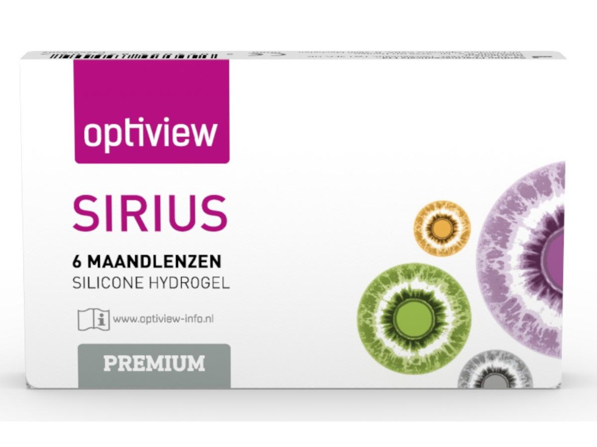 Optiview Sirius Premium, 6 lenzen