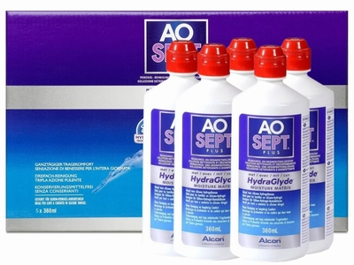 AOSEPT-plus met HydraGlyde, voordeelpak (6 maanden)