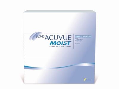 Afbeelding van 1 Day Acuvue Moist for Astigmatism 90 lenzen