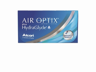 Air Optix plus HydraGlyde 3 lenzen