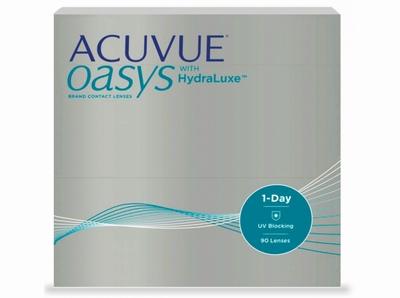 Acuvue Oasys 1 Day met HydraLuxe 90 lenzen