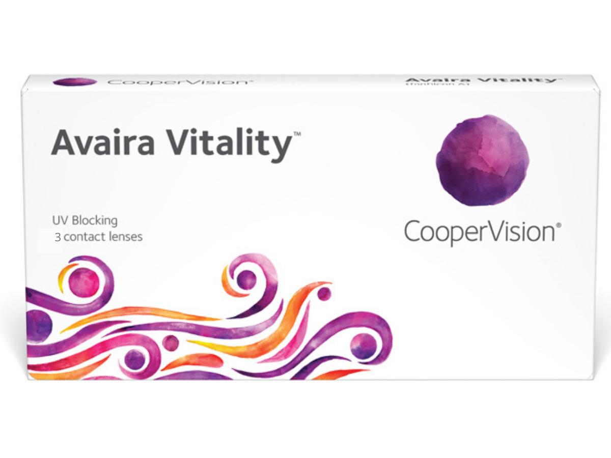 Avaira Vitality 3 lenzen