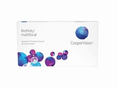 Biofinity Multifocal 3 lenzen
