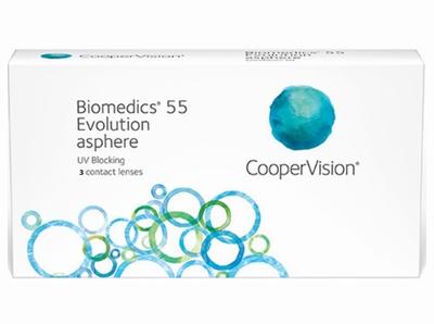 Afbeelding van Biomedics 55 Evolution 3 lenzen
