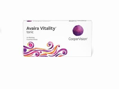 Avaira Vitality Toric 6 lenzen
