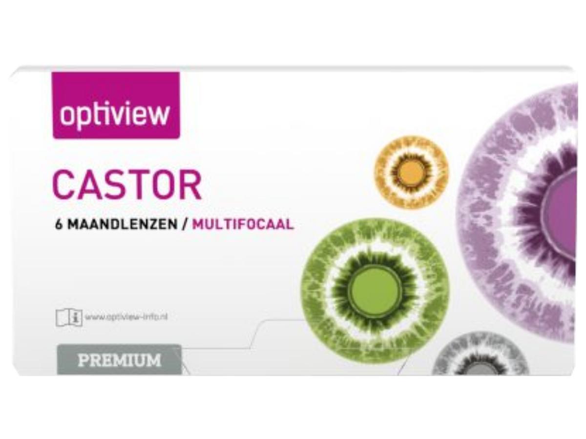 Optiview Castor Premium Multifocaal 6 lenzen