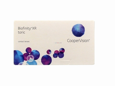 Biofinity XR Toric 6 lenzen