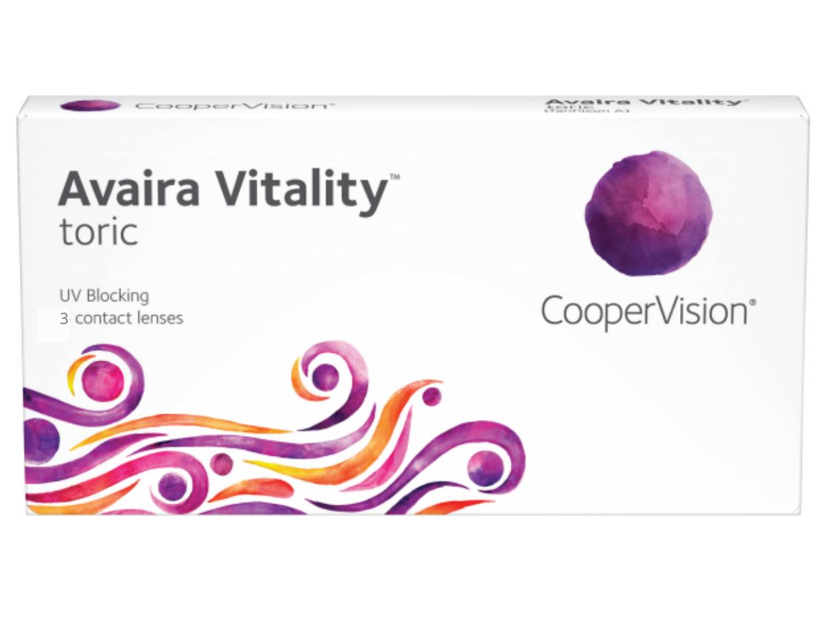 Avaira Vitality Toric 3 lenzen