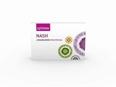 Optiview Nash Multifocaal 6 lenzen
