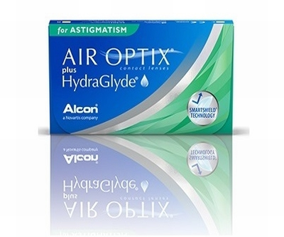 Air Optix® plus HydraGlyde® for Astigmatism 6 lenzen