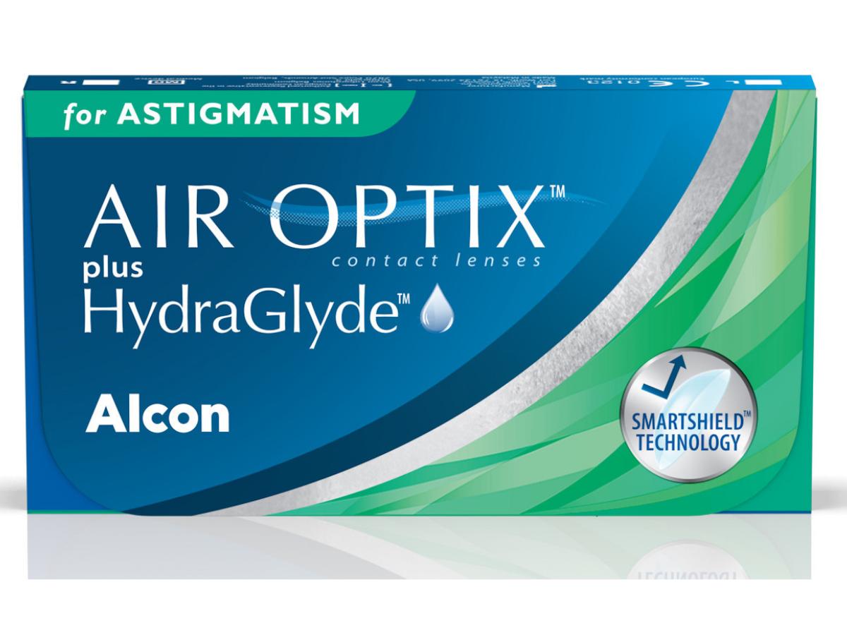 Air Optix plus HydraGlyde for Astigmatism 6 lenzen