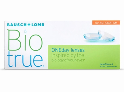 Biotrue ONEday for Astigmatism 30 lenzen