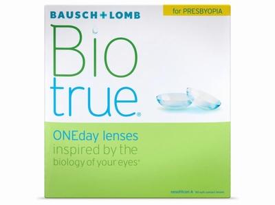 Biotrue ONEday for Presbyopia 90 lenzen