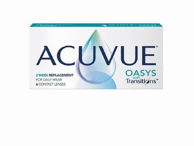 Acuvue Oasys Transitions 1-2 week 6 lenzen