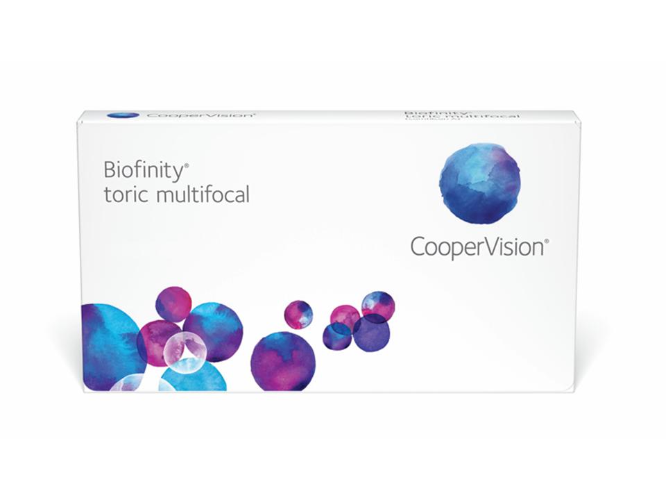 Biofinity Multifocal Toric 6 lenzen