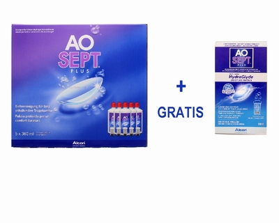 AOSEPT® plus, voordeelpak + HydraGlyde® 90 ml. Actie