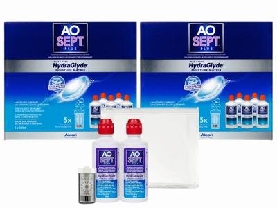 AOSEPT®plus HydraGlyde 2x voordeelpak+gratis reisverpakking