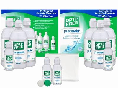 OptiFree Puremoist 2x voordeelpak + gratis reisverpakking