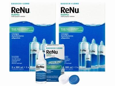 Renu MultiPlus 2x voordeelpak + gratis reisverpakking