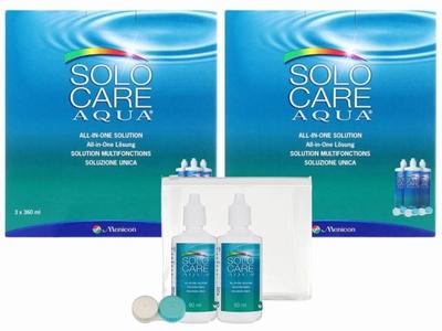 SOLOCARE Aqua 2x voordeelpak + gratis reisverpakking