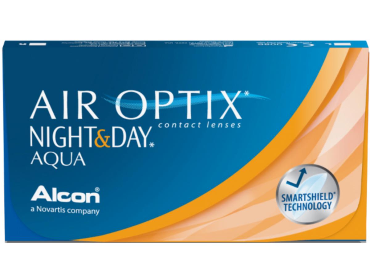 Air Optix Night&Day Aqua 6 lenzen