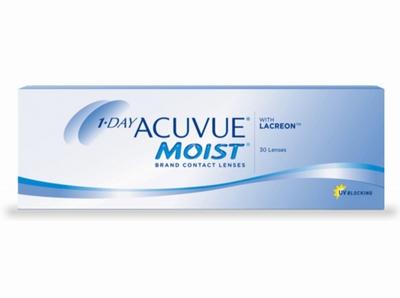 Afbeelding van 1 Day Acuvue Moist 30 lenzen