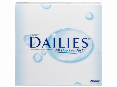 Focus Dailies All Day Comfort 90 lenzen