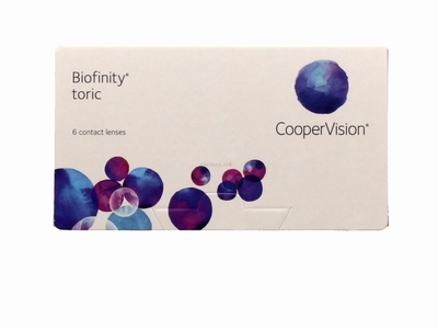 Biofinity® Toric 6 lenzen