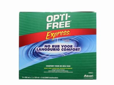 OPTIFREE® Express® 3x355ml.+120ml voordeelpak (6 maanden)
