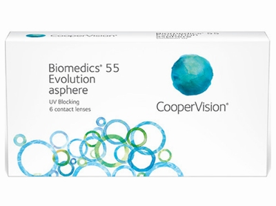Biomedics 55 Evolution 6 lenzen