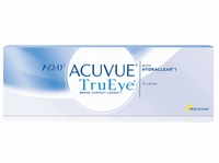 1 Day Acuvue TrueEye, 30 pack v.a.