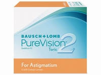 PureVision 2 for Astigmatism 6 lenzen
