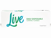Live daily disposable (v.h. Softique 1 Day) 30 lenzen