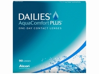 Dailies AquaComfort Plus, 90 pack v.a.