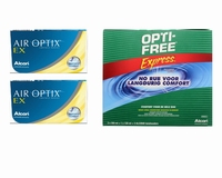 Air Optix EX (2x6) + Optifree Express