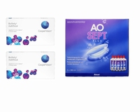 Biofinity Multifocal (2x6) + AoSept-Plus