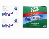 Biofinity Multifocal (2x6) + OptiFree Express