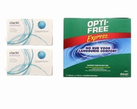 Clariti Multifocal (2x6) + OptiFree Express