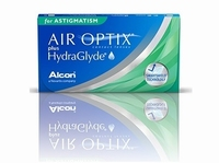 Air Optix for Astigmatism plus Hydraglyde 6 lenzen