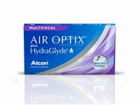 Air Optix Aqua Multifocal plus HydraGlyde, 3 lenzen