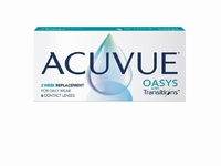 Acuvue Oasys Transitions 1-2 week 6 lenzen